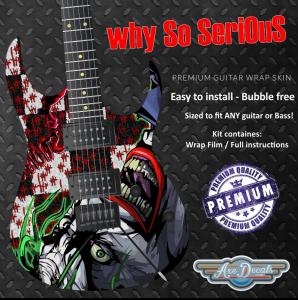 Why So Serious Guitar Wrap Skin
