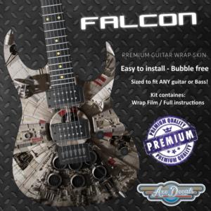 Falcon Guitar Wrap Skin