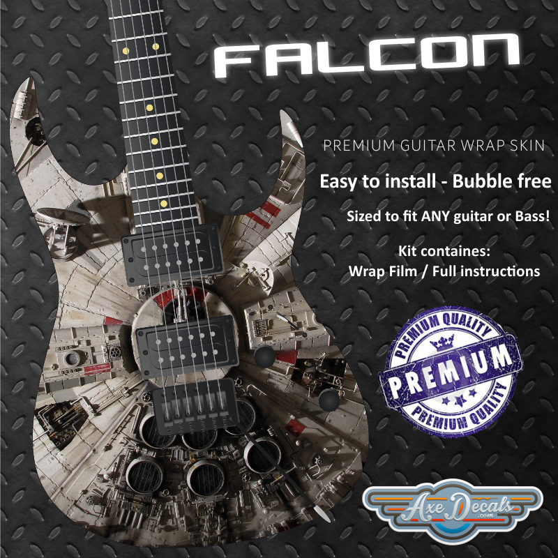 Falcon Guitar Wrap Skin