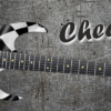 Chequered Flag Guitar Wrap Skin
