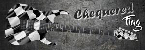 Chequered Flag Guitar Wrap Skin