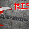 Rising Sun Guitar Wrap Skin