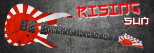 Rising Sun Guitar Wrap Skin