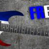 French Flag Guitar Wrap Skin