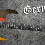German Flag Guitar Wrap Skin