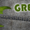 Green Cheques Guitar Wrap Skin