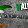 Italian Flag Guitar Wrap Skin