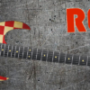 Red Cheques Guitar Wrap Skin