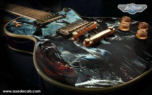 Zombie Attack Guitar Wrap Skin