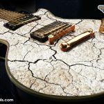 Cracked Guitar Wrap Skin