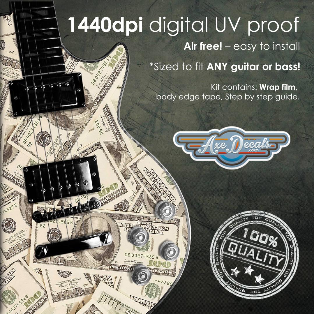 Falcon Guitar Wrap Skin Guitar Skin Guitar Wrap