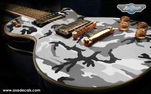 Urban Camo Guitar Body Wrap