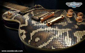 Snakeskin Guitar Wrap Skin