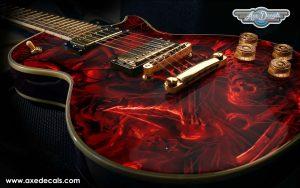 Hell Guitar Wrap Skin