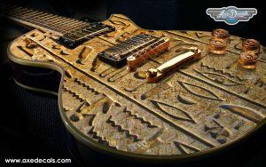 Hieroglyphs Guitar Wrap Skin