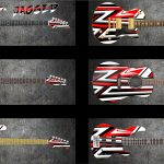 Jagged Guitar Wrap Skin