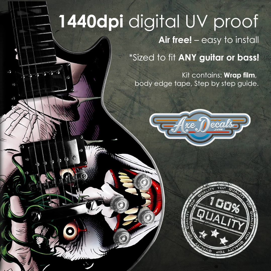 How To Measure Your Guitar Axedecals Com