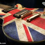 Union Jack Flag Guitar Wrap Skin