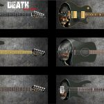 Death Monster Guitar Wrap Skin