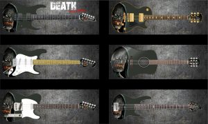 Death Monster Guitar Wrap Skin