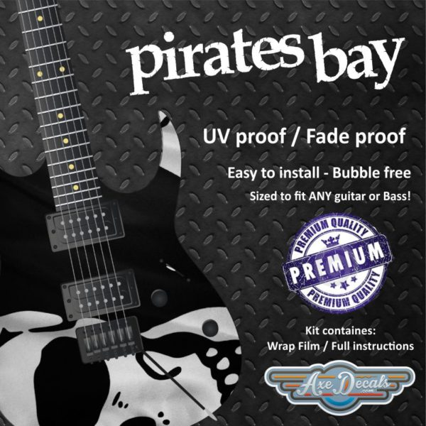 Pirates Bay Guitar Wrap Skin