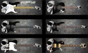 Pirates Bay Guitar Wrap Skin