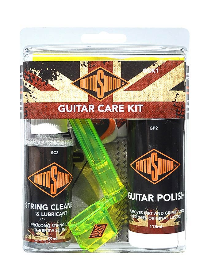 Rotosound care kit guitar polish (59ml)