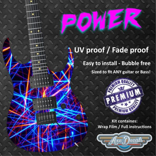 Power Guitar Wrap Skin