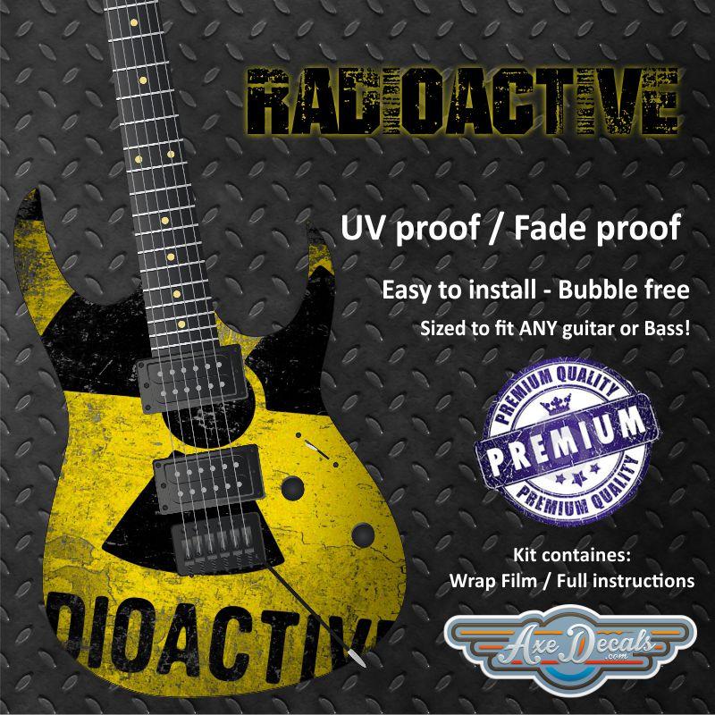 Radioactive Guitar Wrap Skin