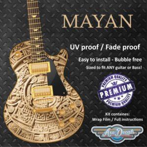 Mayan Guitar Wrap Skin