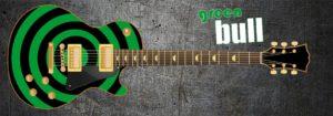 Green Bull Guitar Wrap Skin