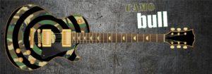 Camo Bull Guitar Wrap Skin