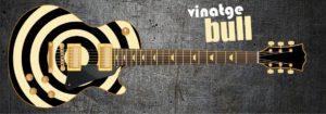 Vintage Bull Guitar Wrap Skin
