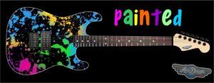 Painted Guitar Wrap Skin