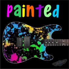 Painted Guitar Wrap Skin