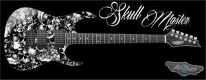 Skull Master Guitar Wrap Skin